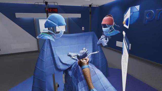 ue4 vr,UE4的VR应用——Precision OS可使外科手术训练速度提高5倍