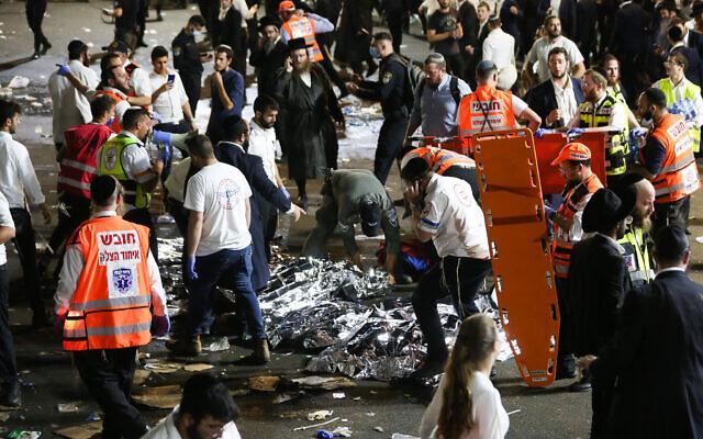 持续更新丨以色列北部发生踩踏事件 至少44人死亡103人受伤 全球新闻风头榜 第2张