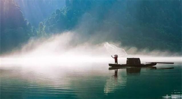 疏的诗,九首诗词话春水:落花满春水,疏柳映新塘