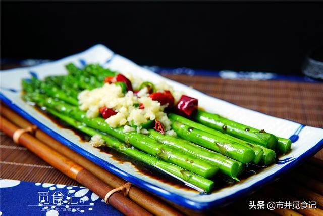 芦芽的吃法,清明时节,宁可不吃肉也要吃这菜,含硒量高,三高人群要常吃