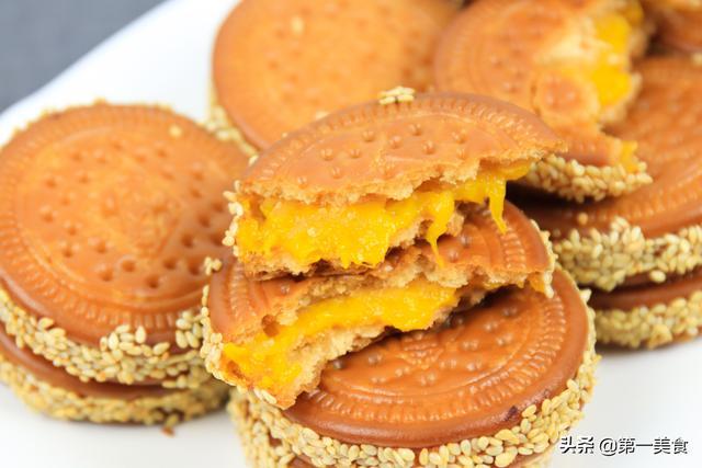 薄饼怎么做,厨师长教你南瓜饼最简单的做法,3分钟就能学会,外酥里软吃不腻