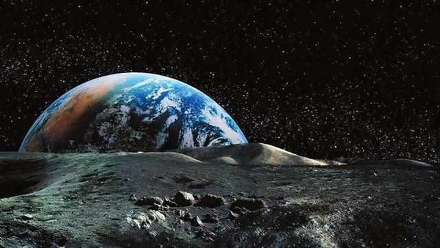 地球图片,站在月球上眺望地球,为什么有人会觉得恐惧?他们看到了什么?