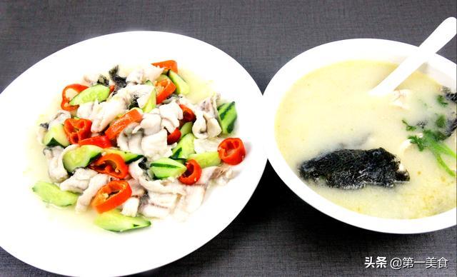 黑鱼汤的做法,更丰富的吃法!巧用黑鱼,家常做法超美味的1鱼2吃