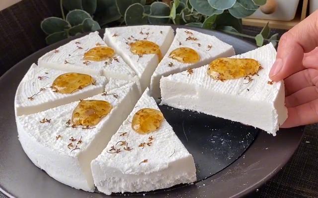 桂花糕的做法,满屋飘香的桂花糕:做法详细,口感细腻,绵软香甜,只需三种食材