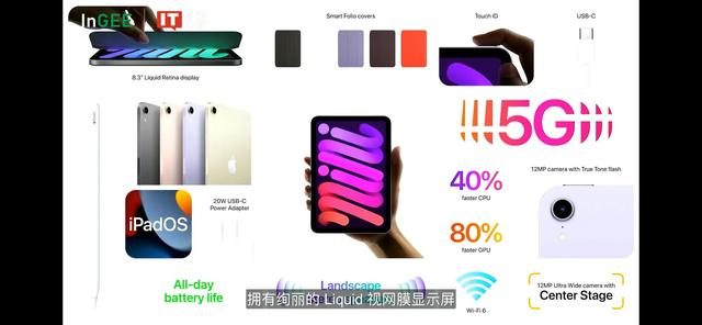 iPhone13发布会iPad mini 介绍完毕第二波手表