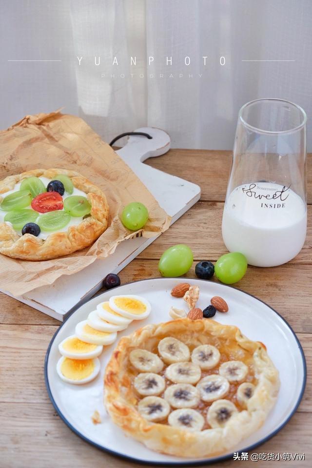 卷卷的吃法,假期早餐不马虎,解锁手抓饼的5种神仙吃法,做法简单、营养美味