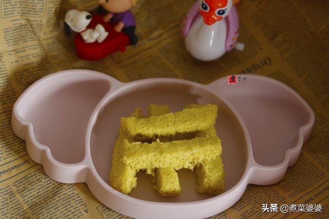 """怎么做糕,老公给""""小情人""""做的第一口蒸糕,松松软软喷喷香,做法真简单"""