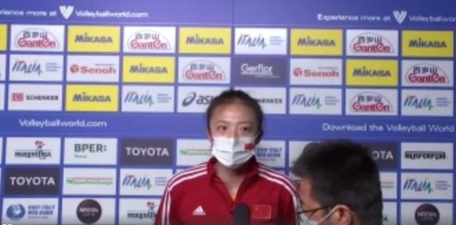 中国女排主力二传丁霞:大家都想赢下美国队