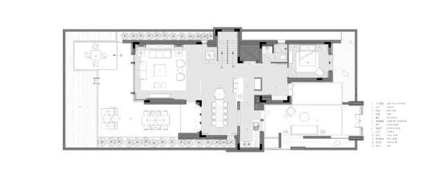 别墅装修,269㎡现代风别墅,禅意优雅高级灰,华丽端庄而大气