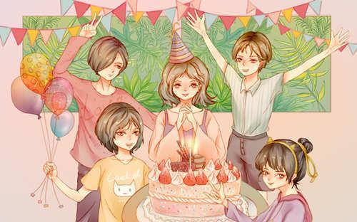 自己生日快乐祝福语,写给自己的生日祝福语 祝自己生日快乐