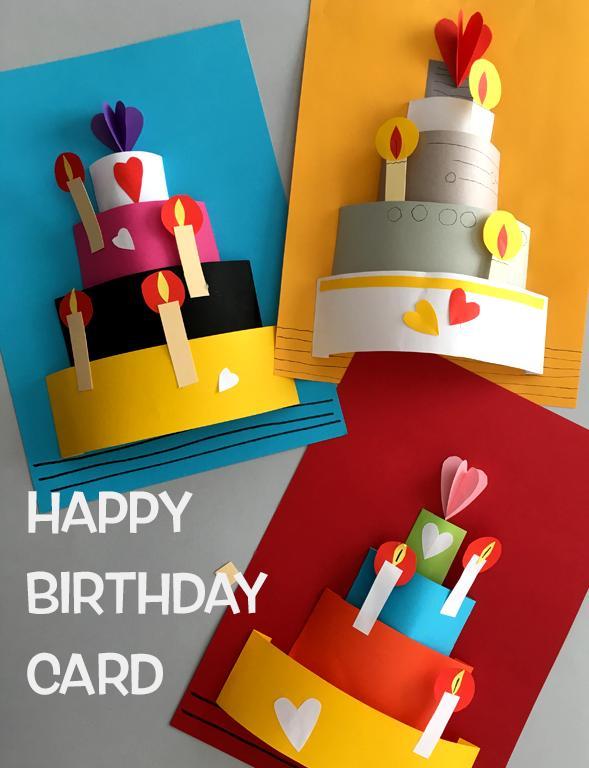 怎么做卡片,别再买生日贺卡啦!贺卡这样做,比文具店里的好看一万倍
