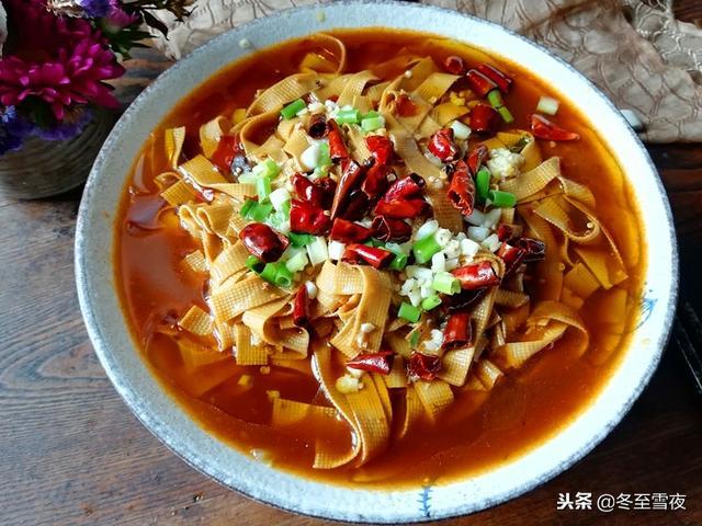 豆腐皮的做法,分享7道豆皮最受欢迎的做法,给肉都不换,天天吃着不重样