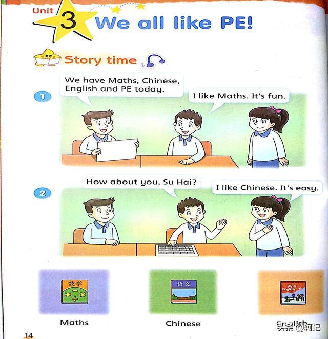 小学英语二年级下第3单元(译林版)Unit 3