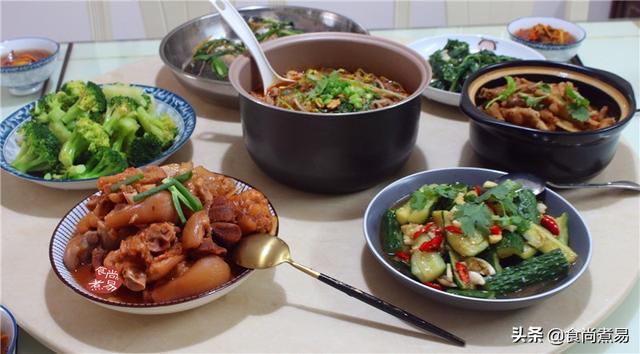 爸爸生日祝福语,老爸生日聚餐做了8菜1汤,食材成本花费不到300元,大家吃得欢