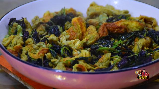 苏叶的吃法,紫苏炒蛋最好吃的家庭做法,简单美味又下饭,看看你喜欢吃不?