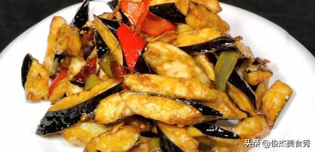 风味茄子的做法,正宗鲁菜家常菜风味茄子的正确做法,掌握要点在家也能做出美食