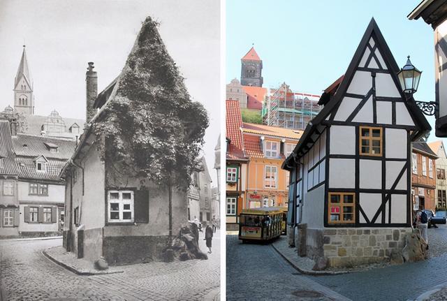 有意义的图片,相隔100年的照片集,是岁月留下的美好记忆