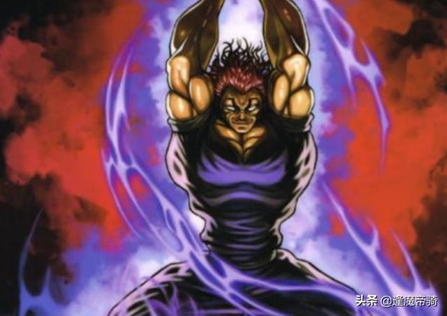 """刃牙漫画,刃牙:勇次郎号称""""地上最强"""",遇到这3个人时,却也退缩过"""