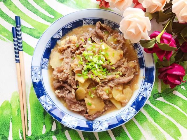 肥牛的吃法,好吃到舔盘子的蚝油土豆肥牛,做法简单,鲜嫩下饭,太过瘾了