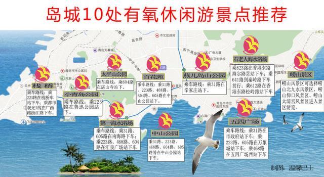 青岛旅游景点,青岛10处有氧休闲游景点推荐!附乘车线路