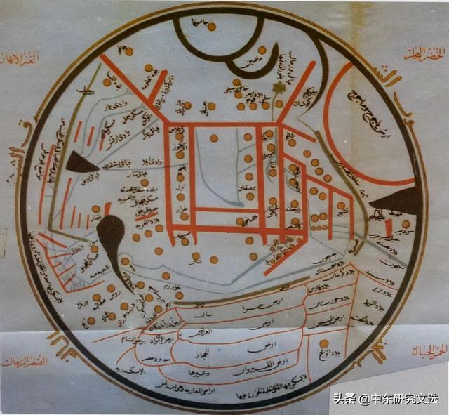 世界地图高清图片,中世纪重要的阿拉伯地图学家及地图