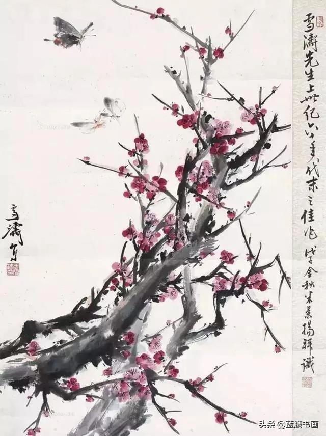 梅的特征,梅花代表着坚韧不拔的精神,不同大师笔下的梅花究竟什么样子