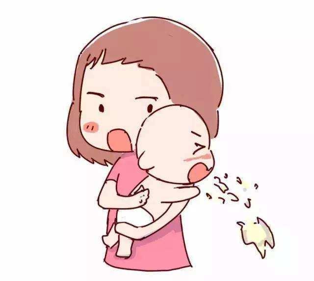 婴儿吐奶怎么回事,详解哺乳期婴儿吐奶的真相,新手妈妈学会几招,遇事不慌