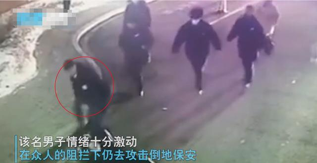 吉林一小区保安拦截外来车辆,遭车主多次爆踹,监控画面曝光 全球新闻风头榜 第3张