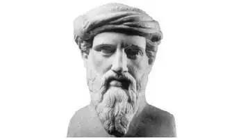 名人的故事50字,智慧之神:毕达哥拉斯