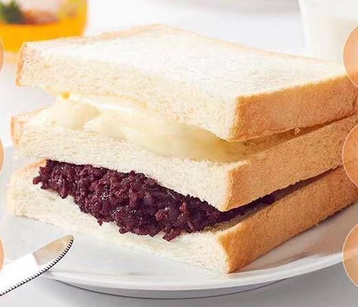 面包新语紫米面包整箱1100g吐司夹心蒸蛋糕代餐点心休闲零食早餐