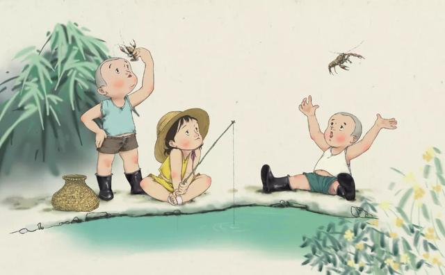 孩子童真的唯美句子,八首童趣诗词:还你一颗童心,找回天真岁月