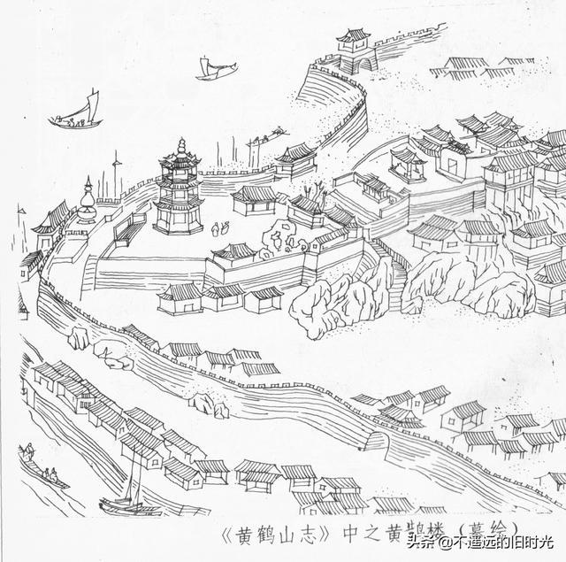 黄鹤楼简介,不同历史时期黄鹤楼形象图谱,唐宋年间和想象差很多当代的最壮观