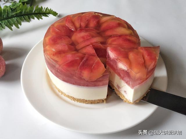 桃酱的吃法,吃桃子的季节到啦,桃子果酱,桃子慕斯蛋糕都满足你