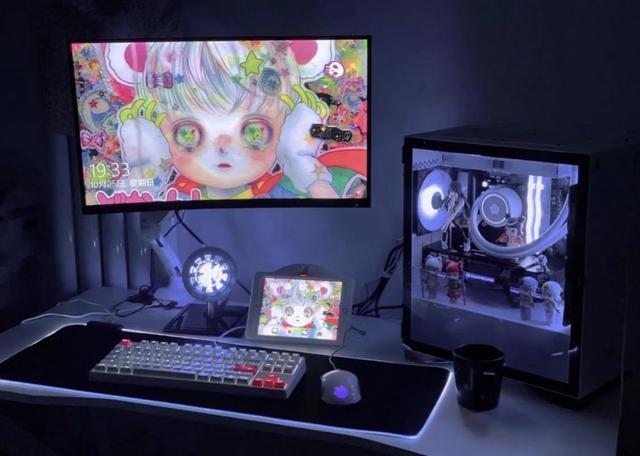 怎么做电脑,6000元内预算,DIY一台白色主题游戏电脑,惊艳就完事了