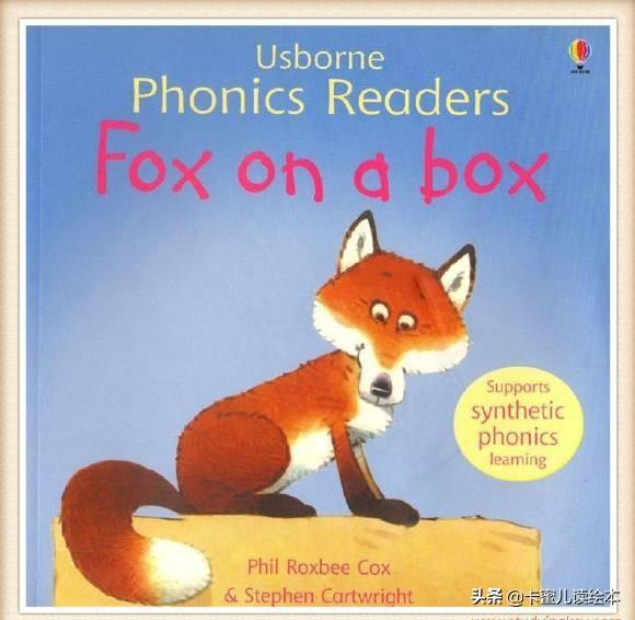 英文有声绘本故事《Fox on a box》箱子上的小狐狸
