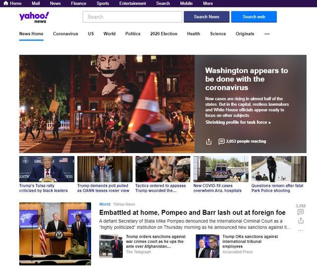 新闻网页,这10个资讯网站涵盖了全球80%以上的热点资讯,你想知道的都在这