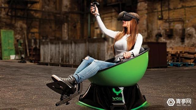 vr仿真,Yaw VR测评:一款适合C端VR模拟游戏玩家的平价、小巧蛋椅