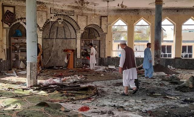 """塔利班麻烦大了!昆都士爆炸致近两百人伤亡,或因为""""剿匪""""承诺"""