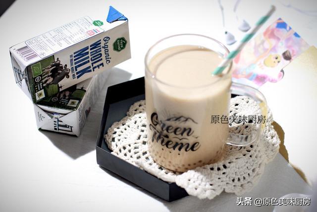 奶茶的做法,自己在家就能做奶茶,做法全部交给你,厨房小白也能轻松制作