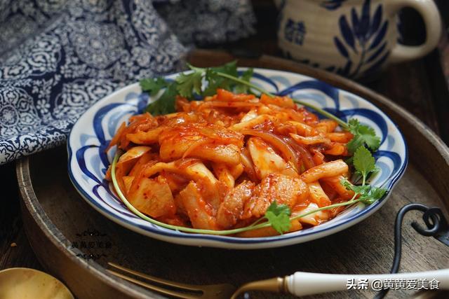 酸菜的吃法,自从知道泡菜能这样吃,我家一周吃3次,营养鲜美解油腻,太香了