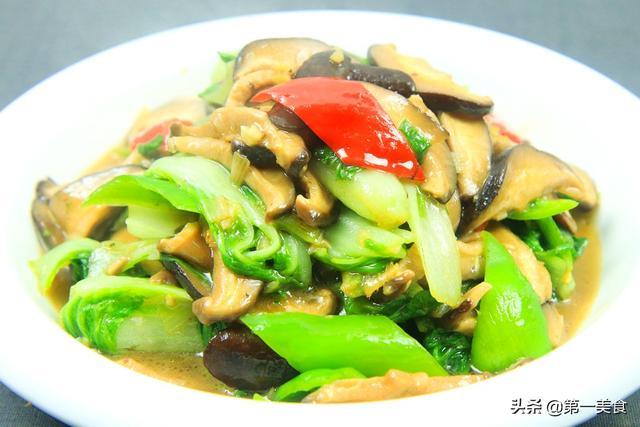 """香菇的吃法,香菇和它是""""黄金搭档""""!简单一炒,鲜香营养还下饭,孩子特爱吃"""