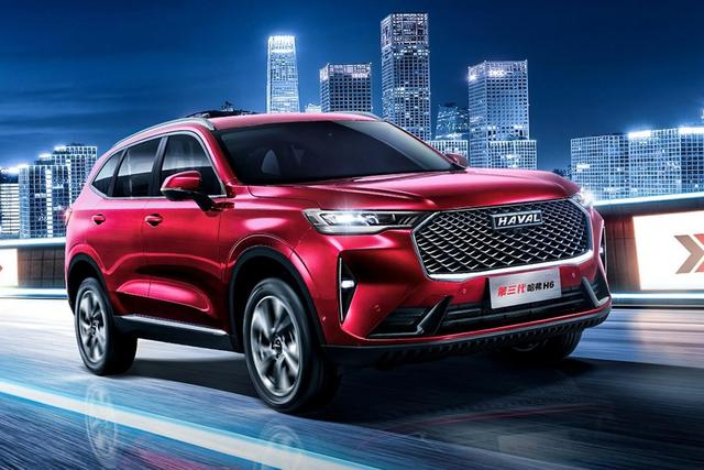 2021年小汽车销售量排行榜TOP10