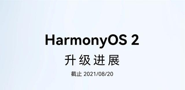 华为HarmonyOS 2最新升级进度放出,太给力,65款设备已升级正式版
