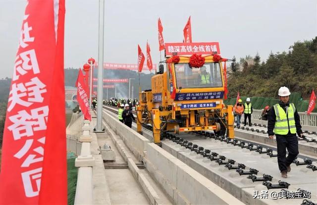 江西2021年铁路线重点项目建设平面图