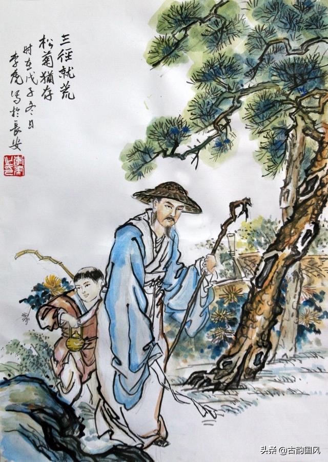 陶渊明的田园诗,《陶渊明诗全集》完整版,值得收藏,慢慢品读