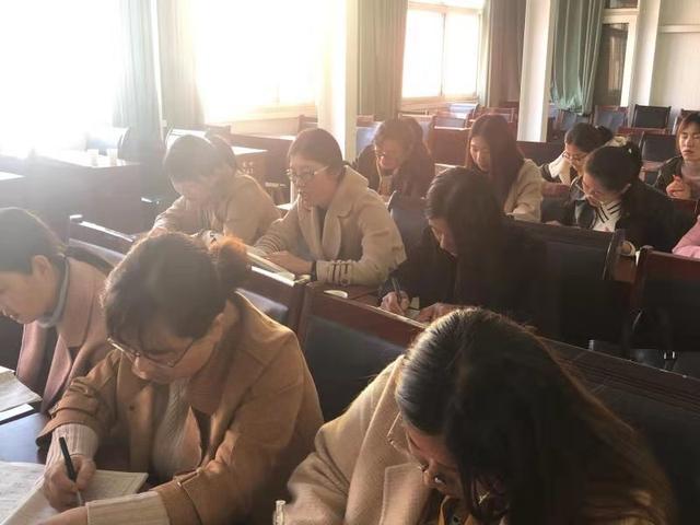 同教研共进步,实验中学第二实验学校开展听评课教研