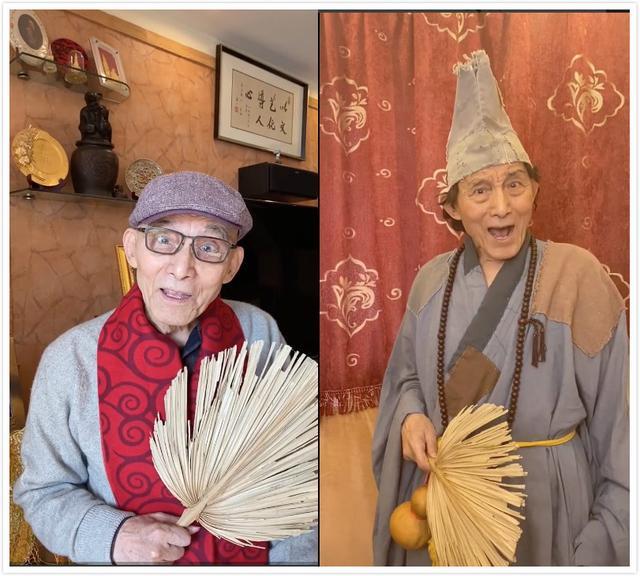 网友希望济公用扇子把疫情扇走……86岁的游本昌爷爷一番回应,带来感动