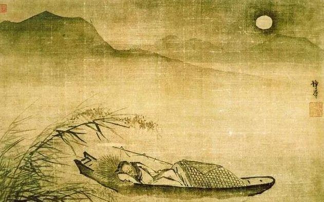 描写月亮的好词好句,李白的诗与月:回不去的故乡,就像月亮|周末读诗