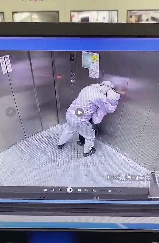 一段电梯不雅视频疯转,主人公是上海市新冠诊断者?不实