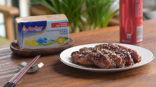 黄油可以做什么美食,记住这几个小技巧!新手也能做黄油可乐鸡翅